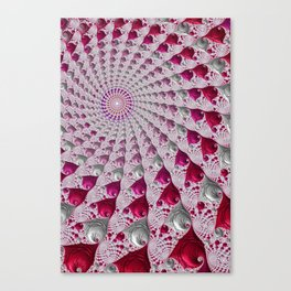 Tunnel Vision Red Canvas Print