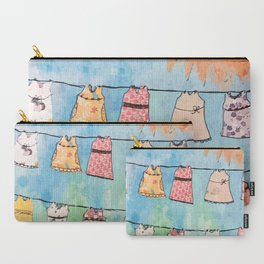 Dresses in the Sun Carry-All Pouch