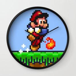 Fireball Trouble Wall Clock