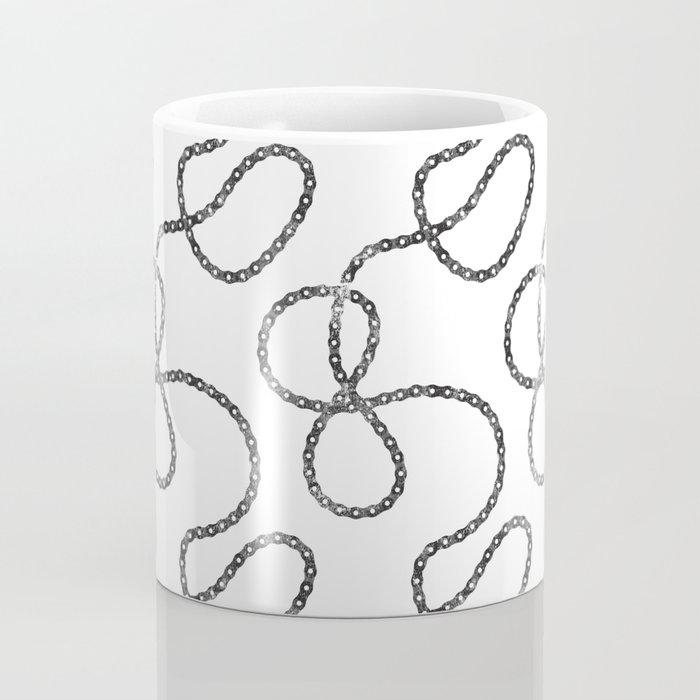 bicycle chain repeat pattern Coffee Mug