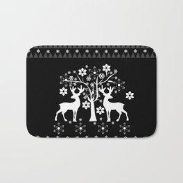 Christmas deer4 Bath Mat
