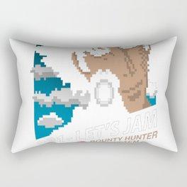 321 - Let's Jam Rectangular Pillow