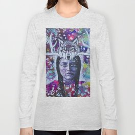She Who Has Been Before Long Sleeve T-shirt