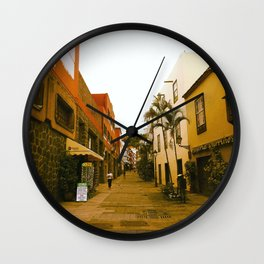 Puerto De La Cruz Wall Clock