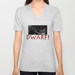 Dwarf vs. Hook Horror  Unisex V-Neck