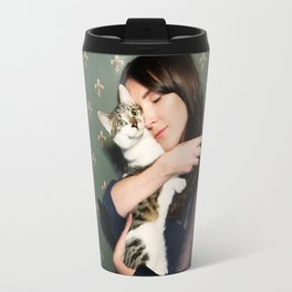 Meow means Woof Travel Mug