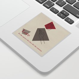Love: Classic Sticker