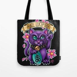 Hail Lucipurr! Tote Bag