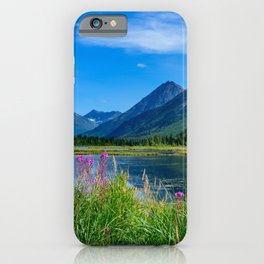 God's Country 4129 - Alaska iPhone Case