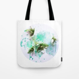 Green moon Tote Bag