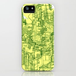 San Francisco! (Yellow) iPhone Case