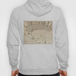 Vintage Map of Messina Italy (1900) Hoody