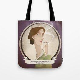 Virginia Woolf  said... Tote Bag