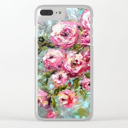 Fauxpology Clear iPhone Case