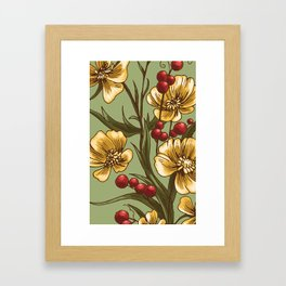 Floraldesign #002 Framed Art Print