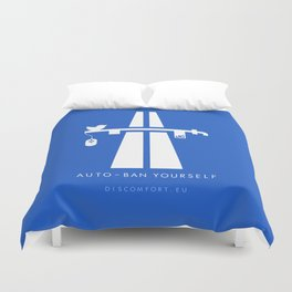 AutoBan Yourself Duvet Cover