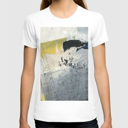 Mellow Yellow Texture Collage T-shirt