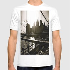 WHITEOUT : Take Me There White Mens Fitted Tee MEDIUM