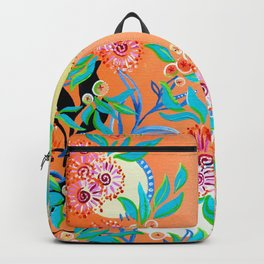 Sunset Gums - Abstract Floral Backpack