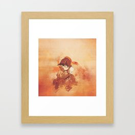 Detektif  Framed Art Print