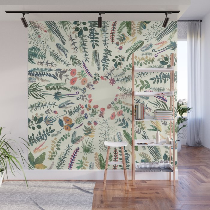 focus garden Wall Mural by franciscomffonseca Society6