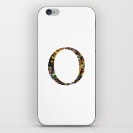 "Initial letter ""O"" iPhone Skin"