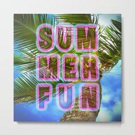 summer fun Metal Print