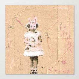 Imaginary Friends- Bunny Canvas Print