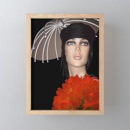 umbrella time -06- Framed Mini Art Print