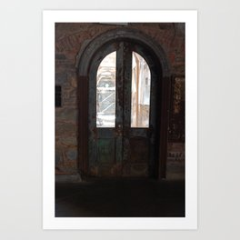 Cellblock Door Art Print
