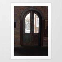Cellblock Door Art Print