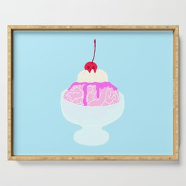 BRAIN SUNDAE Serving Tray
