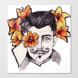 Lilies - Dorian Pavus Canvas Print