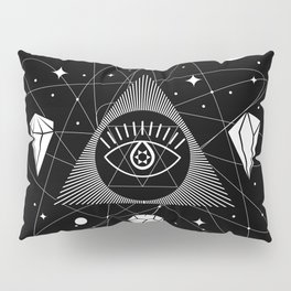 Space Crystals & Secrets of the Universe Pillow Sham
