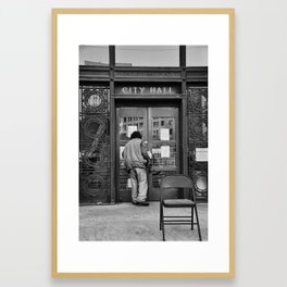 Occupy Oakland Framed Art Print