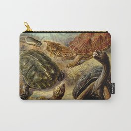 Sea Turtle Collage-Ernst Haeckel Carry-All Pouch