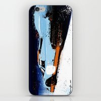 porsche iPhone & iPod Skins featuring PORSCHE 917 -  by Michele Leonello