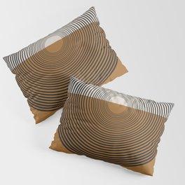 Mid Century Style, Retro  Pillow Sham