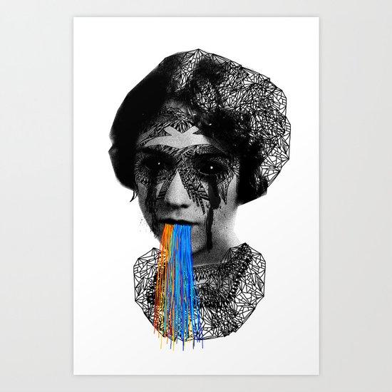 Sylvia II Art Print