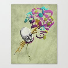 Music to my Ears Canvas Print