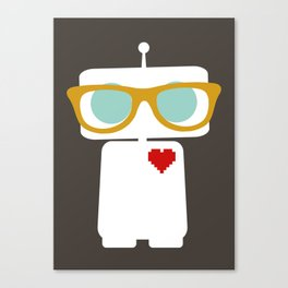 Quirky Robots Canvas Print