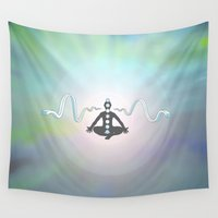 zen Wall Tapestries featuring Zen by Janss