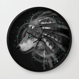 Don't Define the World (Chief of Dreams: Wolf) Tribe Series Wall Clock