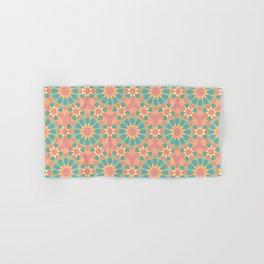 Vintage colors islamic geometric pattern Hand & Bath Towel
