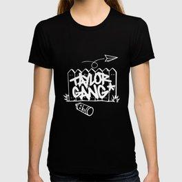 Taylor Gang T Shirt Wiz Khalifa Paper Planes Weed Hip Hop T-Shirts T-shirt