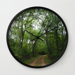 The Long and Winding Road Wall Clock