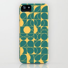 Abstract Geometric Artwork 23 iPhone Case