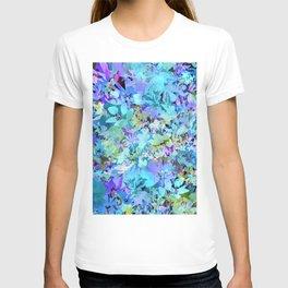 Sky Blue Poppies T-shirt