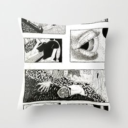 Premonitions Throw Pillow