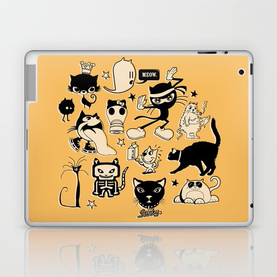 Cat Menagerie Laptop & iPad Skin